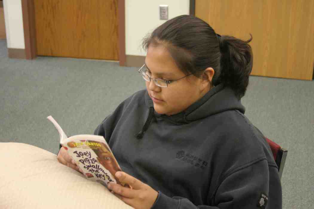 Our Native American students love to read!