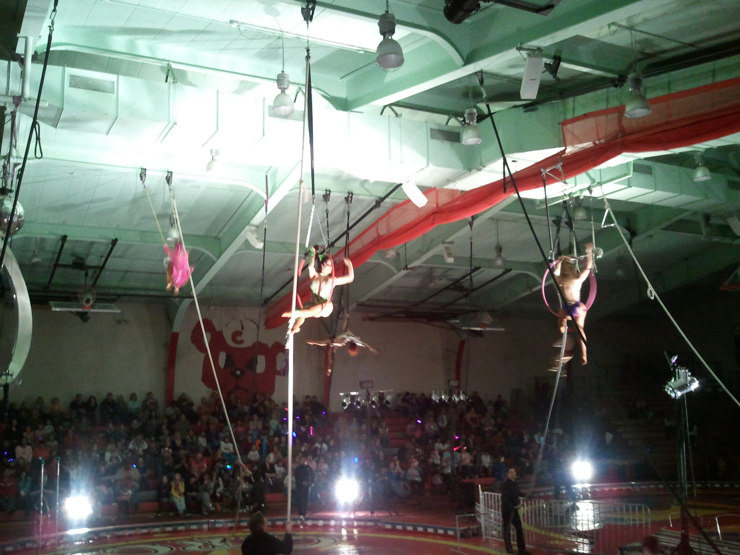The students at St. Joseph's Indian School undoubtedly enjoyed the circus!