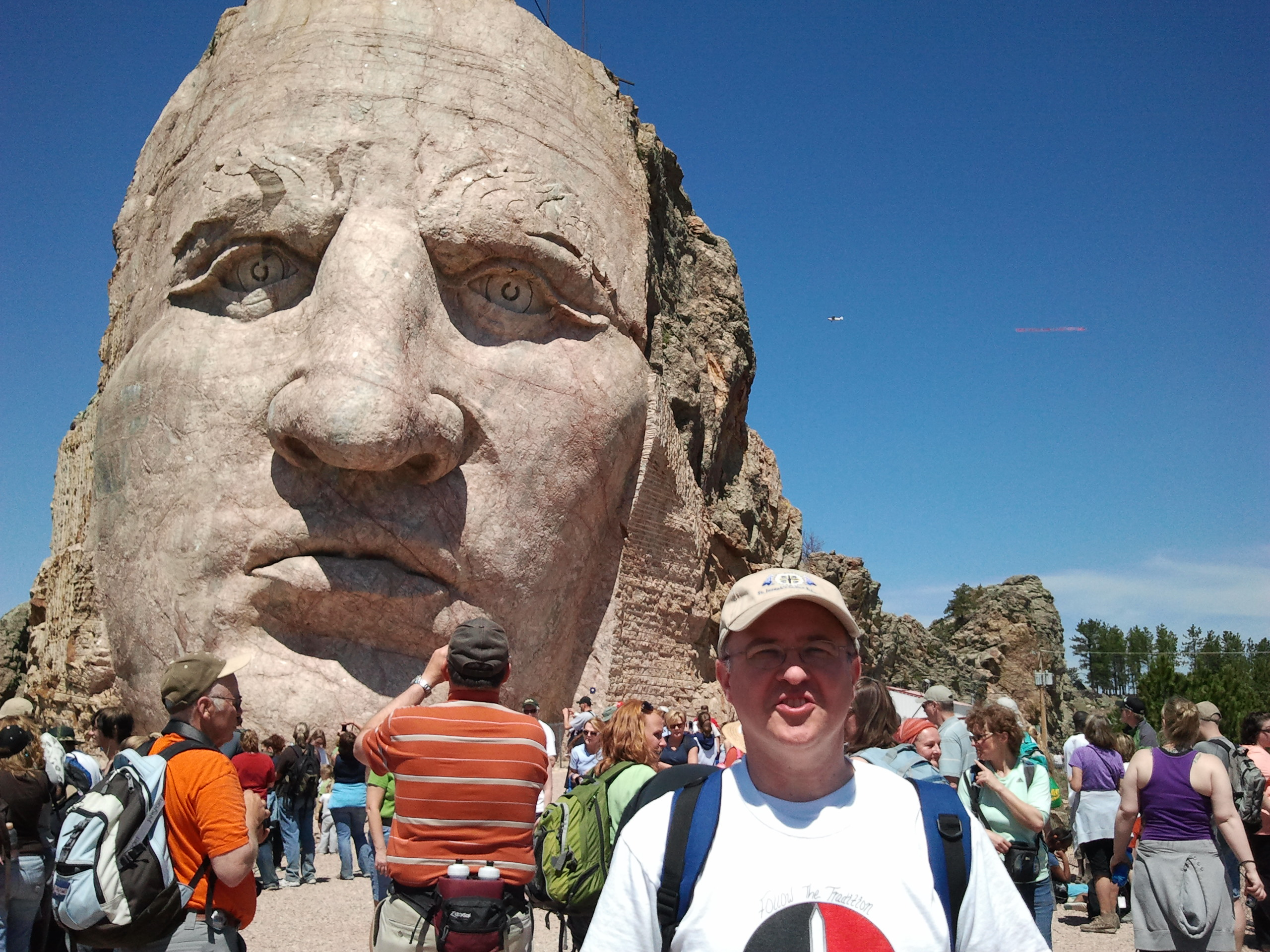 Fr. Steve at Crazy Horse Monument.