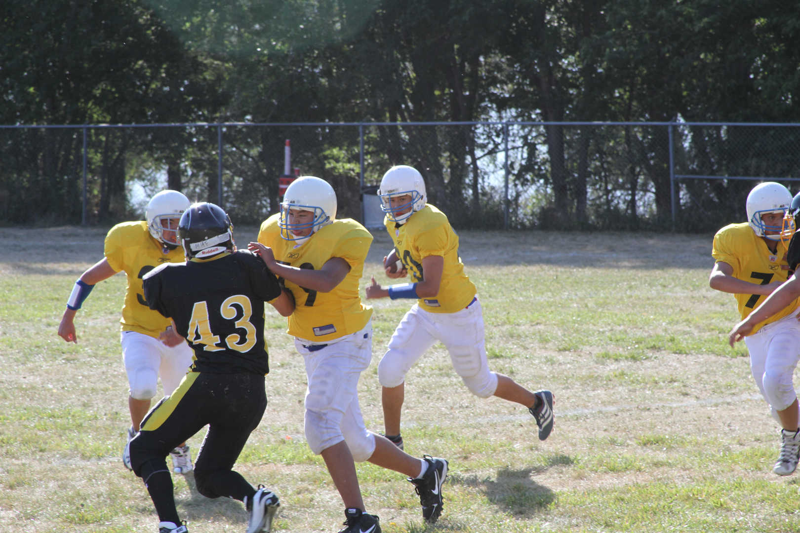 St. Joseph's Indian School's football team won 44-0!