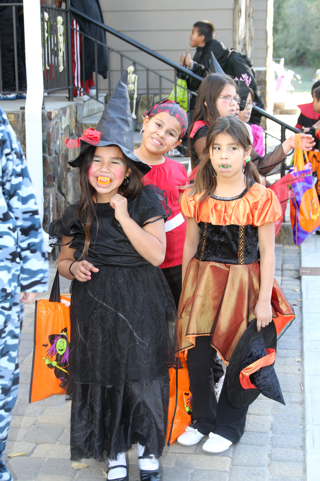 Halloween fun at St. Joseph's Indian School.