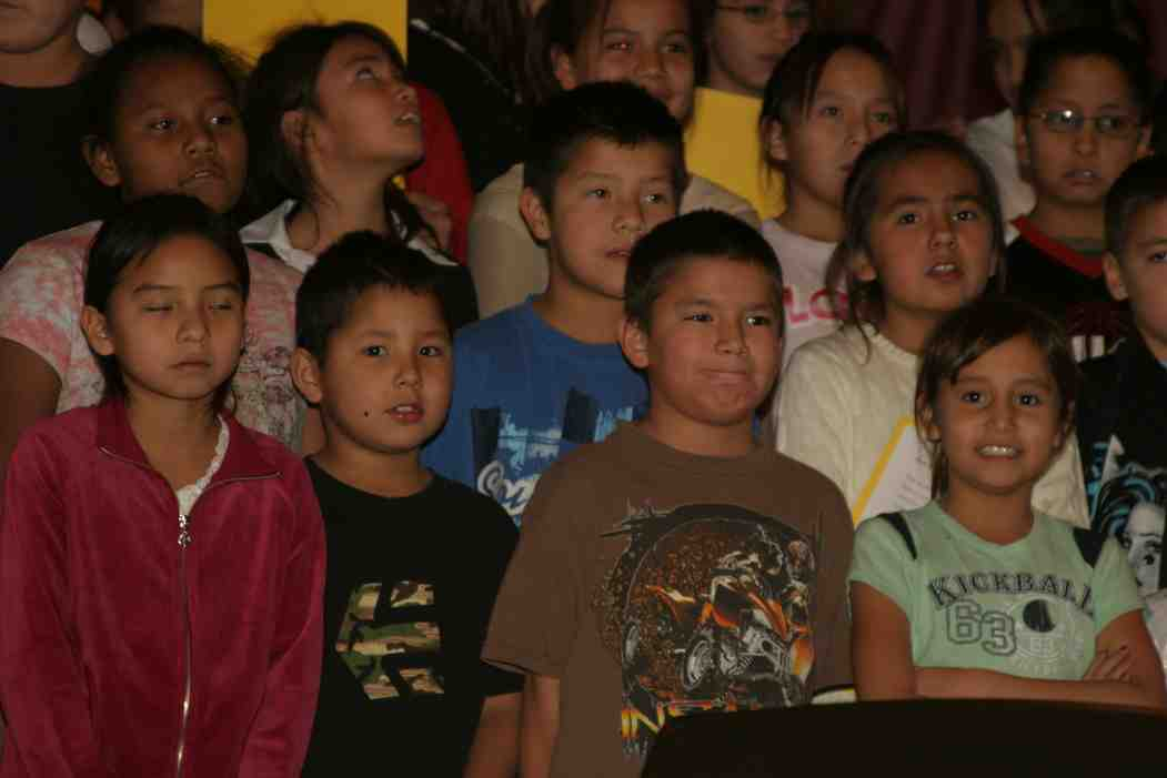 It is remarkable to see the Lakota (Sioux) students mature and grow in their love of Jesus.