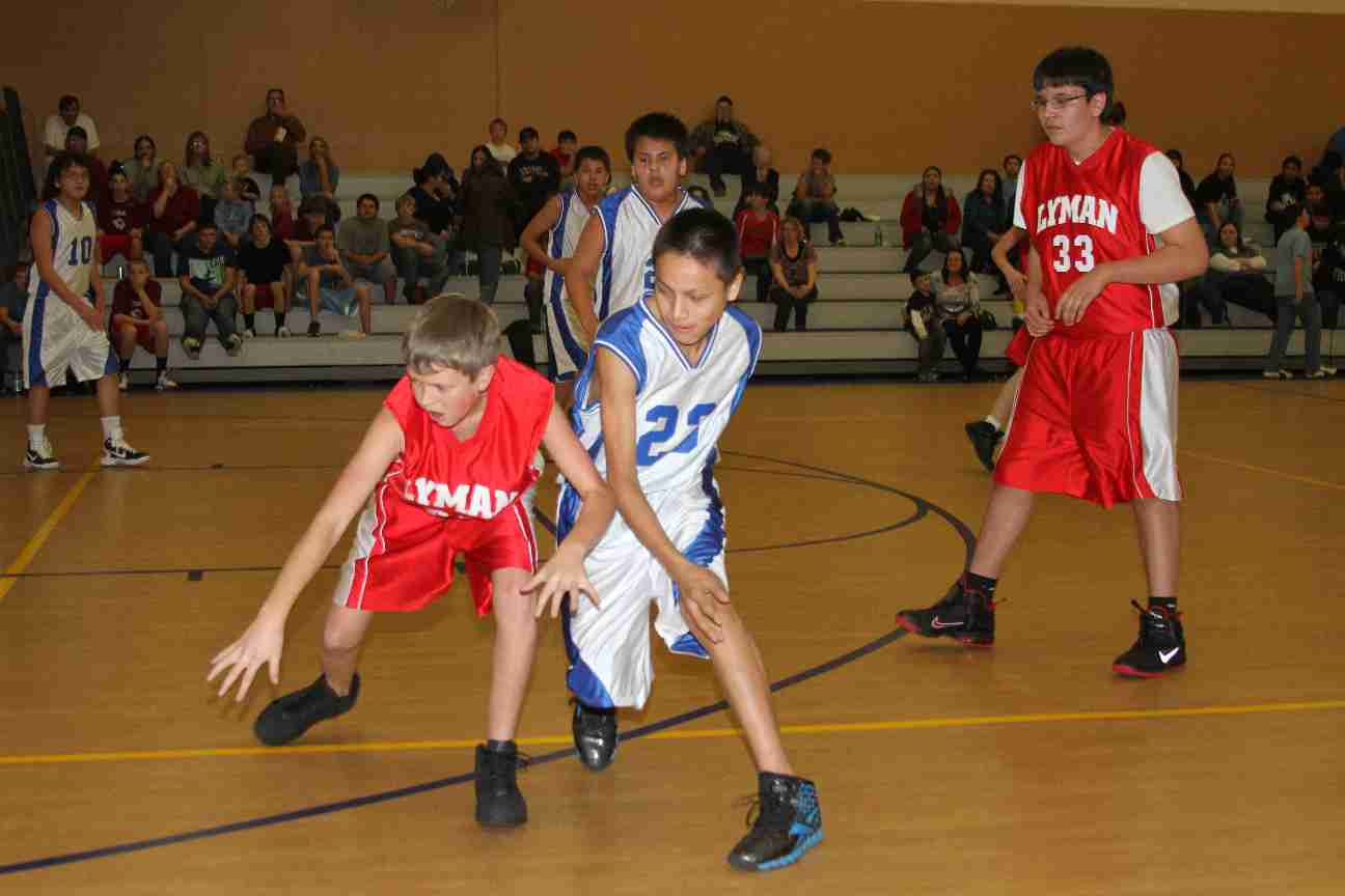 Basketball season is a favorite pasttime at St. Joseph's Indian School!
