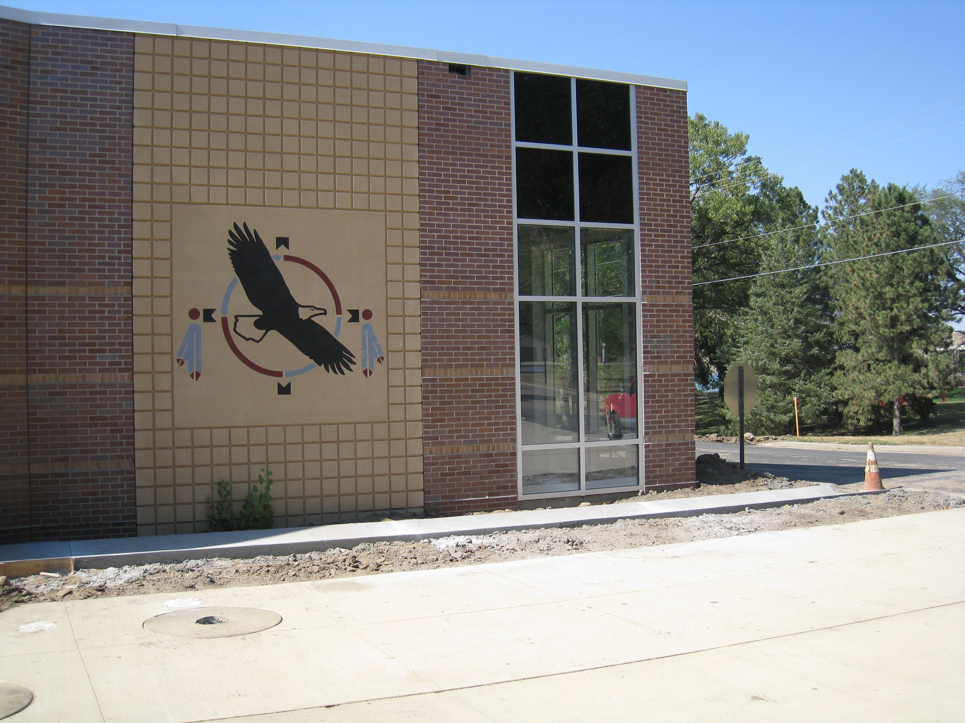 Akta Lakota Museum Front Entrance