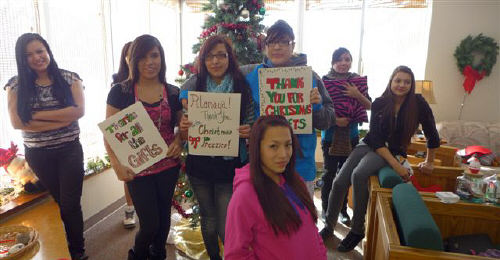 The Lakota children thank you for your generosity!