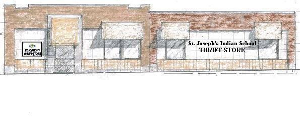 St. Joseph's new Thrift Store is located on Main Street in Chamberlain, South Dakota.