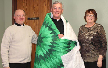 St. Joseph's Board of Directors met last week with the SCJ Provincial completing his 3-year term.