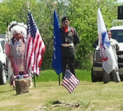 A Memorial Day celebration on a Northern Cheyenne Indian Reservation.