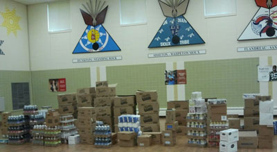 Supplies are ready for the start of the year at St. Joseph's!
