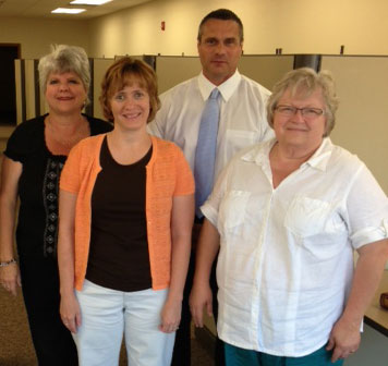 St. Joseph's has four new Personal Care Specialists and a new Major Gifts Officer.