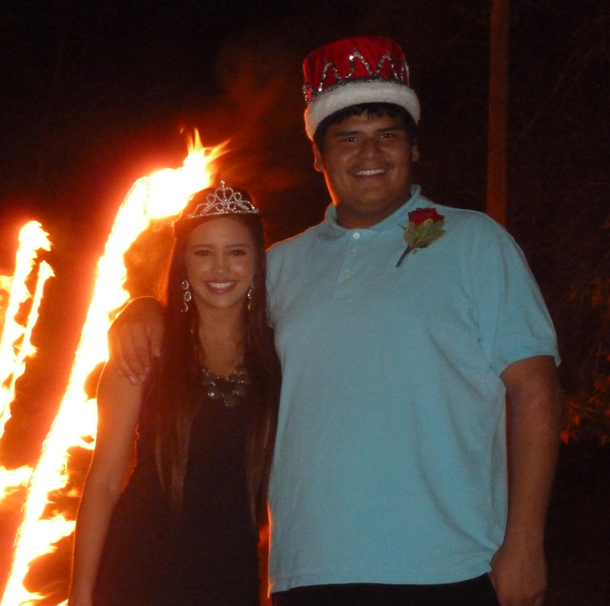St. Joseph's high school student Cody is the Chamberlain High School Homecoming King for 2013.