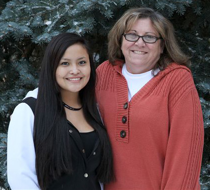 St. Joseph's mentor program matches Lakota students with caring staff members.