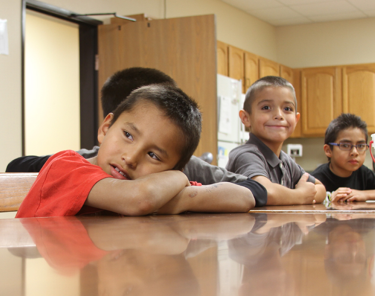 St. Joseph's healing camp helps children work through the loss of people close to them.