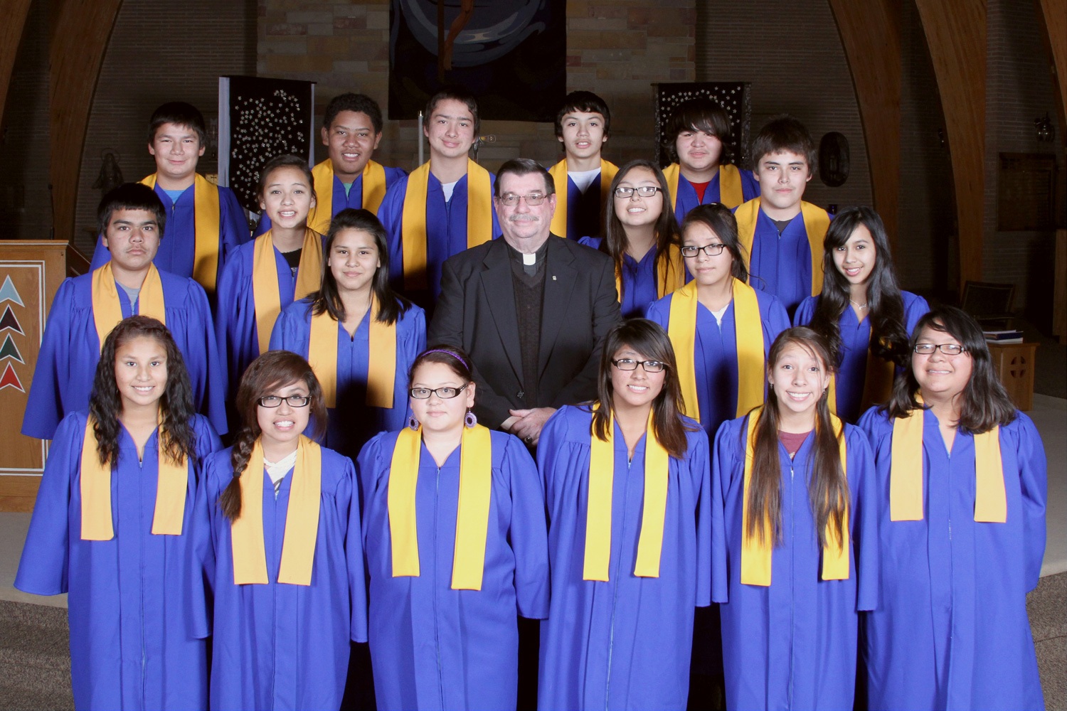 St. Joseph's eighth graders will graduate on Friday, May 23, 2014.