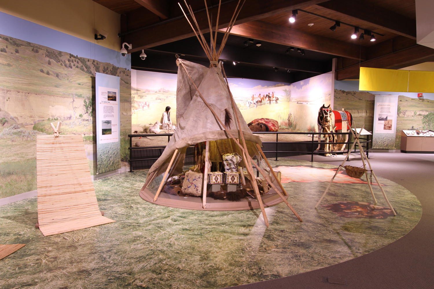 The Akta Lakota Museum & Cultural Center on St. Joseph's campus is free and open to the public.