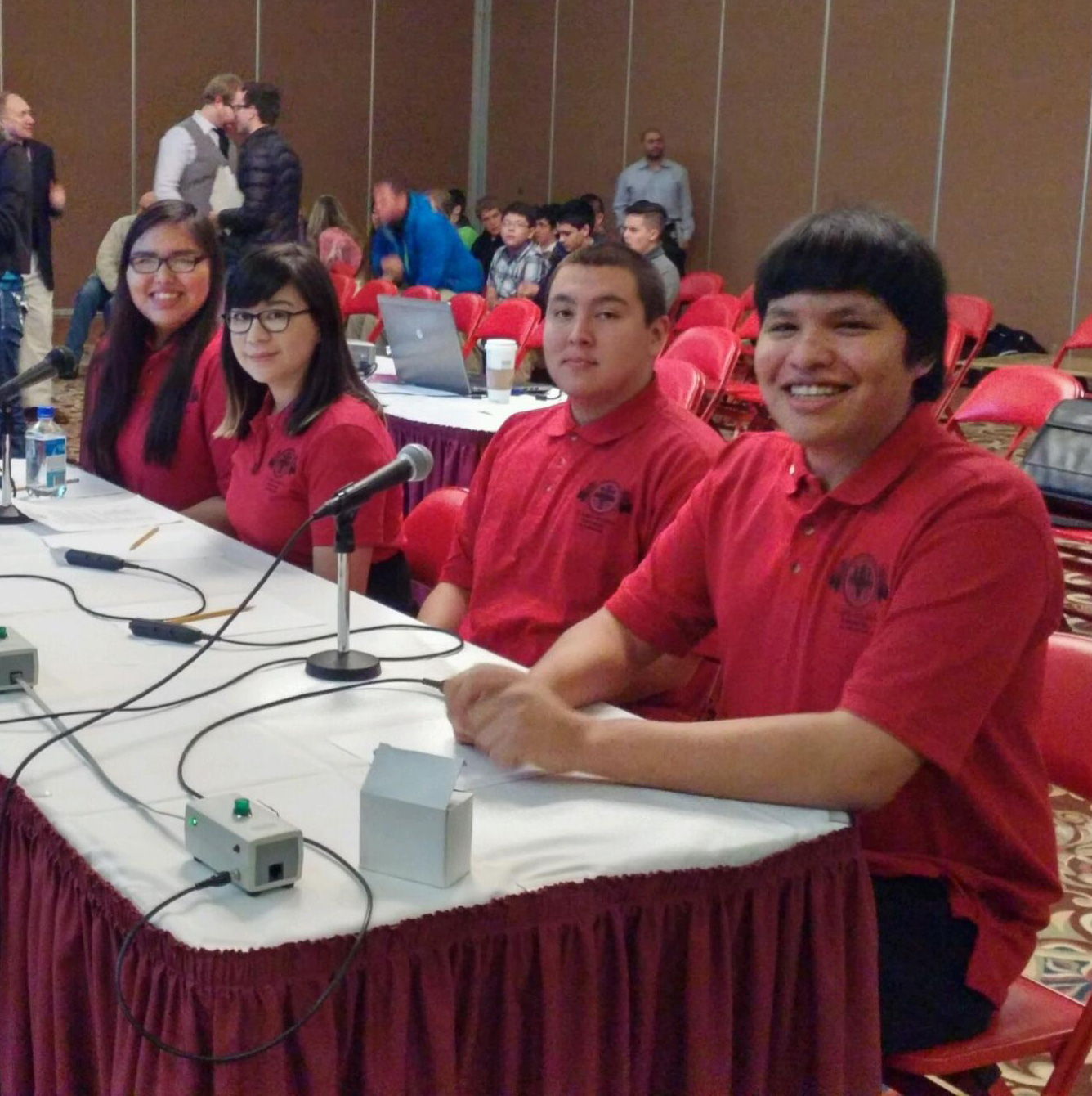 St. Joseph's Knowledge Bowl Team took 3rd place at LNI.