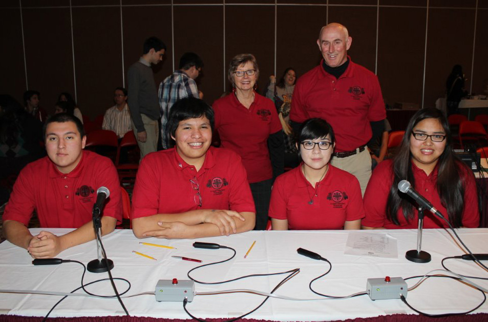 St. Joseph's team took 5th place out of 14 teams at the LNI Knowledge Bowl.