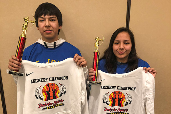 Two St. Joseph's students brought home the championships in the Boys and Girls High School categories.