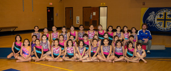 Girls Gymnastics team